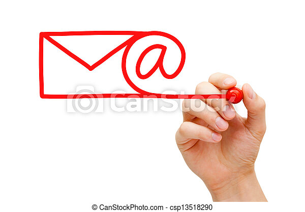 Email Concept - csp13518290