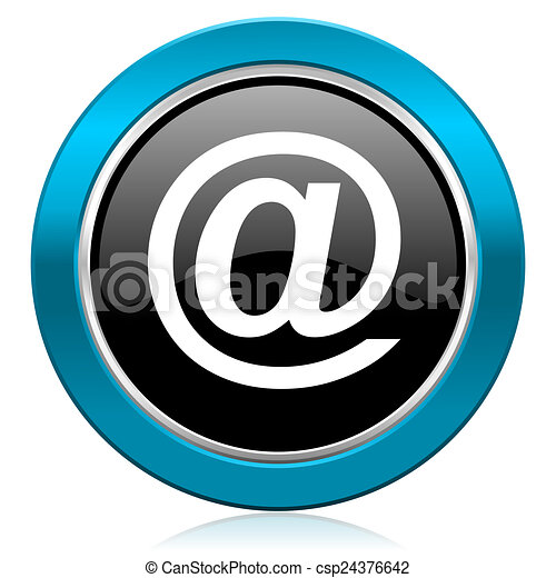 email glossy icon - csp24376642