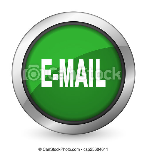 email green icon - csp25684611