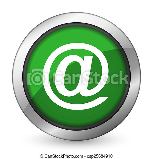 email green icon - csp25684910