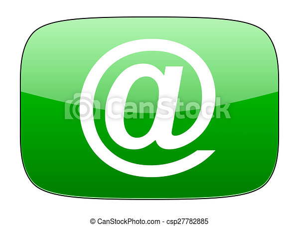 email green icon - csp27782885