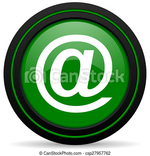 email green icon - csp27957762