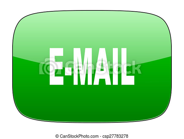 email green icon - csp27783278