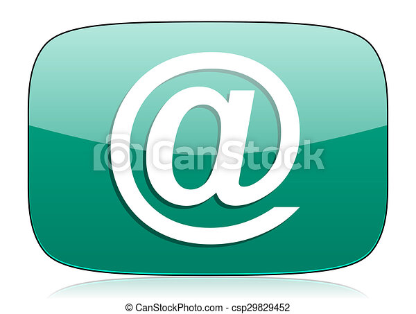 email green icon - csp29829452