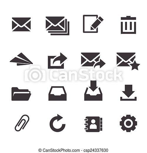 email, icône - csp24337630