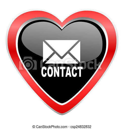 email icon contact sign - csp24832832