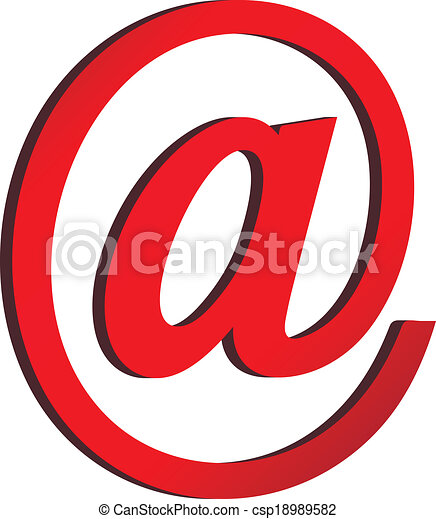 Email icon - csp18989582