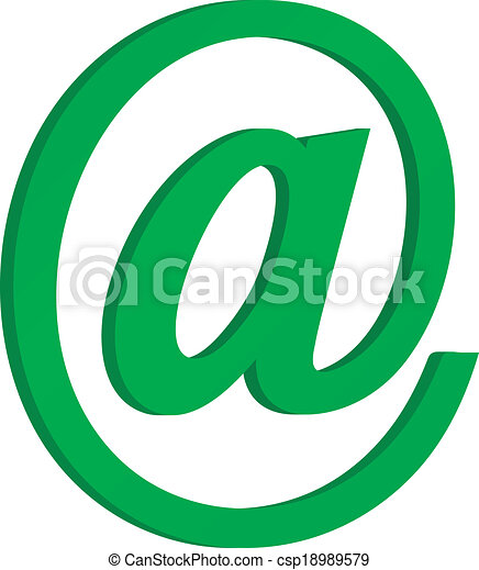 Email icon - csp18989579