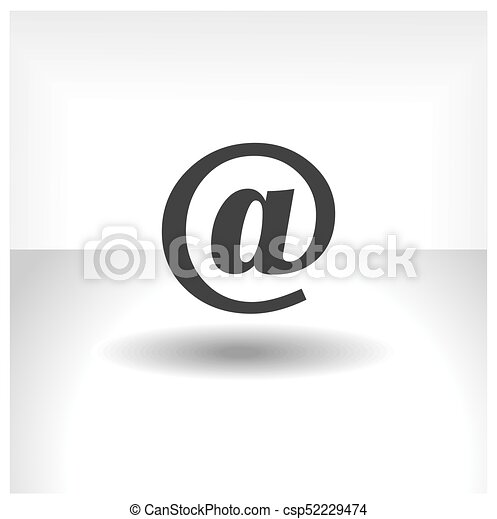 Email Icon - csp52229474