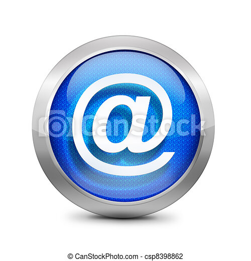 email icon sign - csp8398862