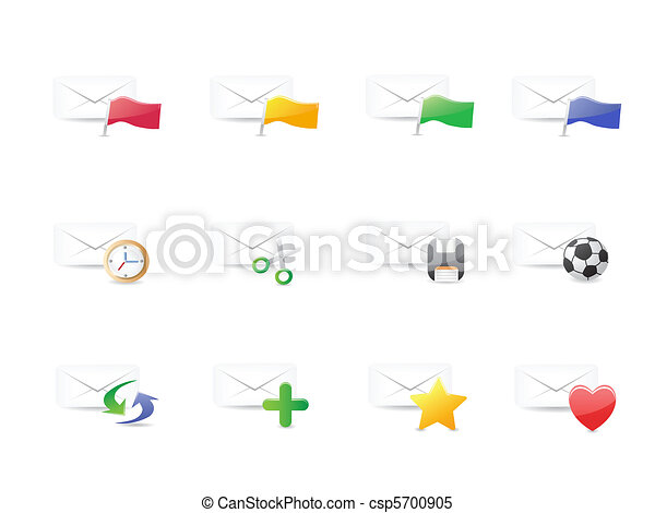 email icons - csp5700905