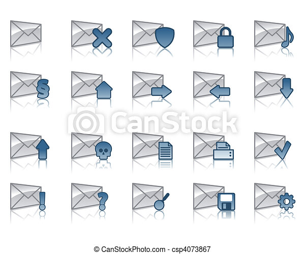 email icons - csp4073867