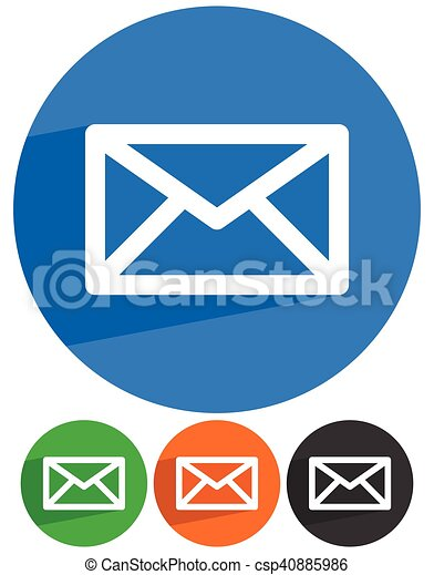 Email Letter Envelope Symbols Communication Contact Support Icon