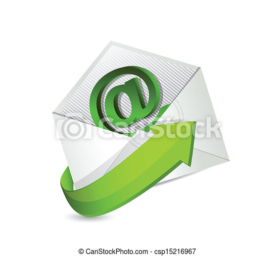 email. mail. contact us illustration - csp15216967