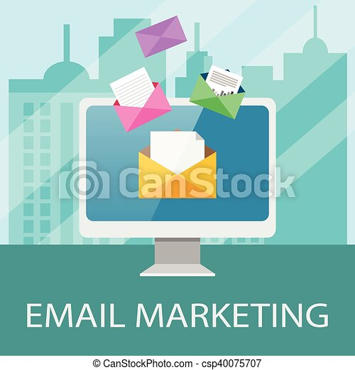 Email Marketing Concept - csp40075707
