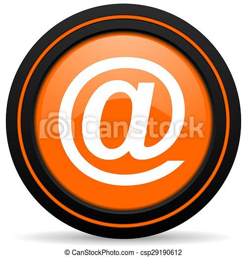 email orange icon - csp29190612