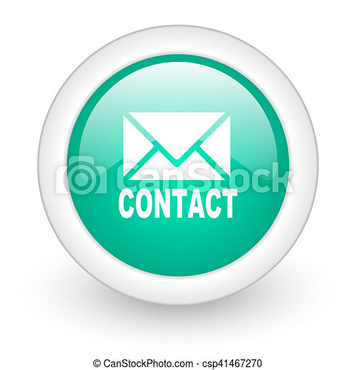 email round glossy web icon on white background - csp41467270