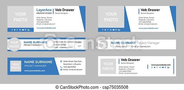 Email Signature Templates - csp75035508