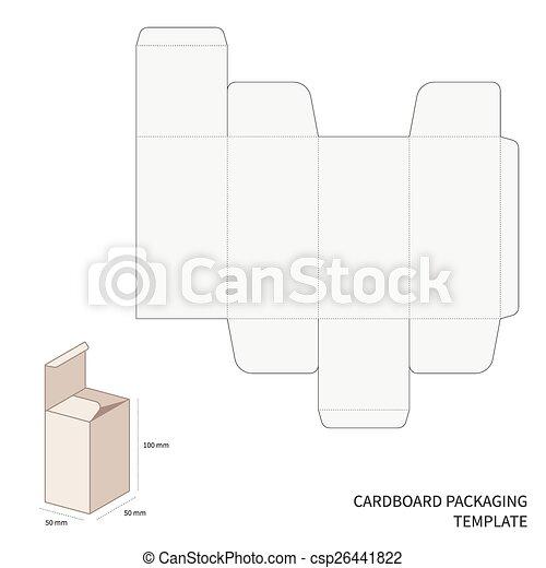 embalagem, vetorial, modelo - csp26441822