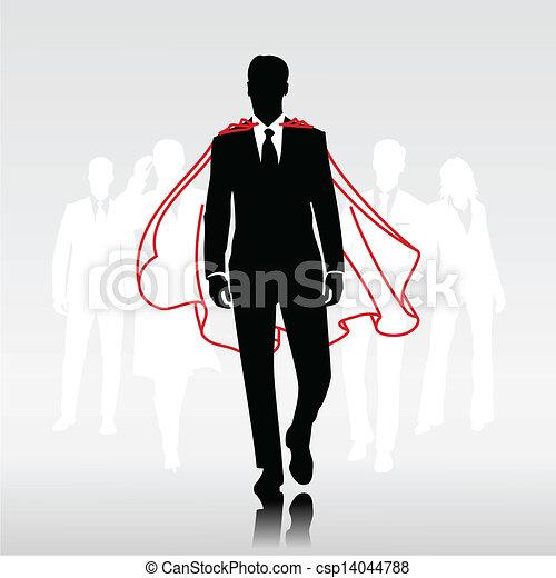 ember, hős, befog - csp14044788
