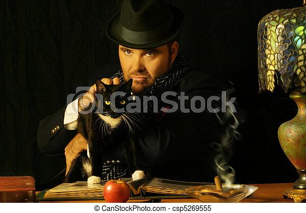ember, macska - csp5269555