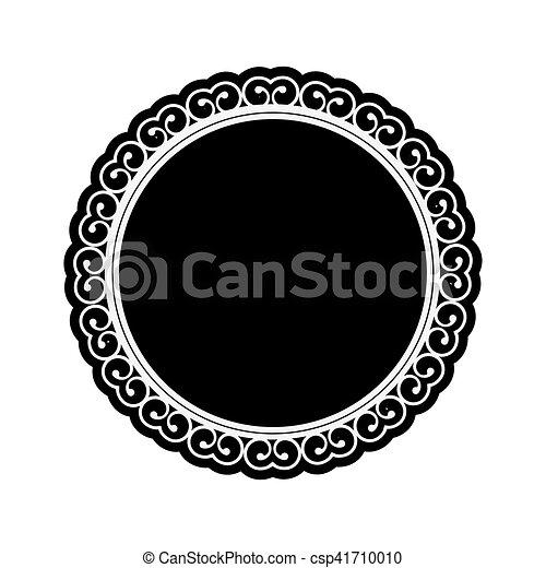emblème, embellished, icône, image - csp41710010