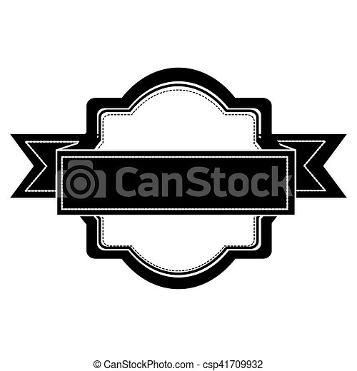 emblème, embellished, icône, image - csp41709932