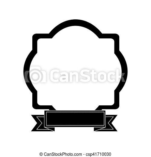 emblème, embellished, icône, image - csp41710030