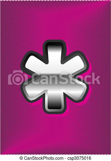 emblème, gabarit - csp3075016