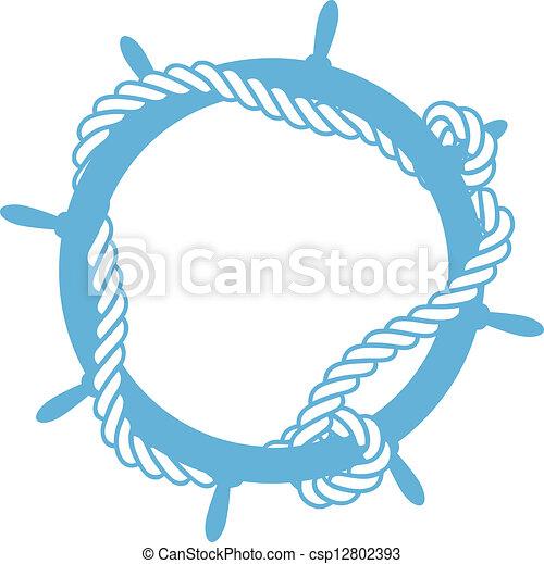 emblème, gabarit - csp12802393
