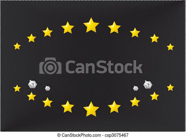 emblème, gabarit - csp3075467