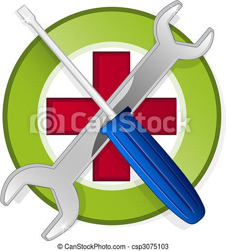emblème, gabarit - csp3075103