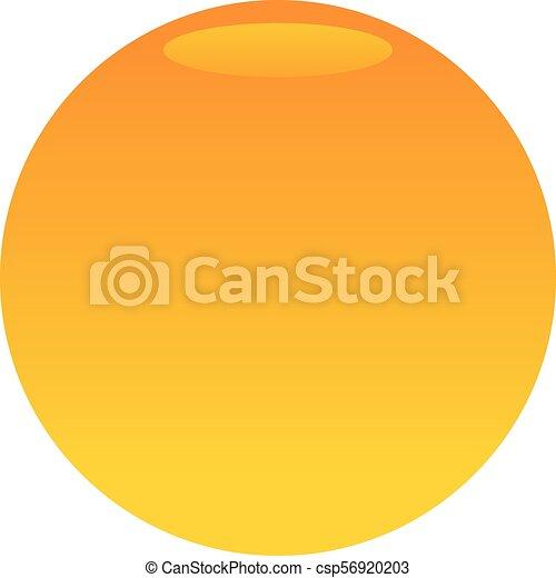 emblème, gabarit, vide - csp56920203