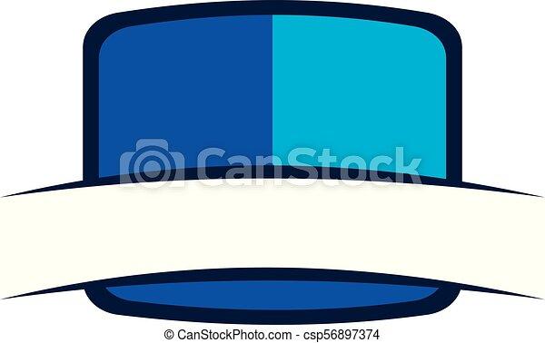emblème, gabarit, vide - csp56897374