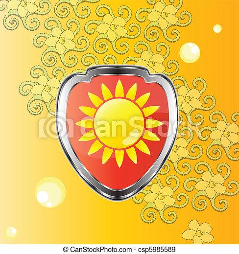 emblème, printemps - csp5985589