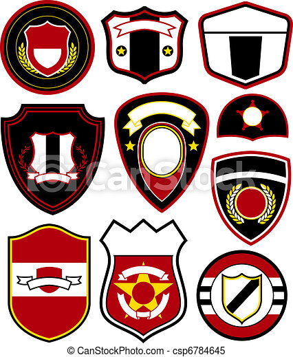 embleem, symbool, badge, ontwerp - csp6784645