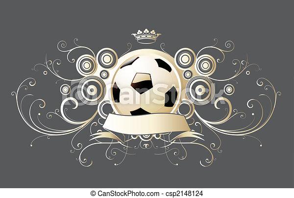 embleem, voetbal - csp2148124