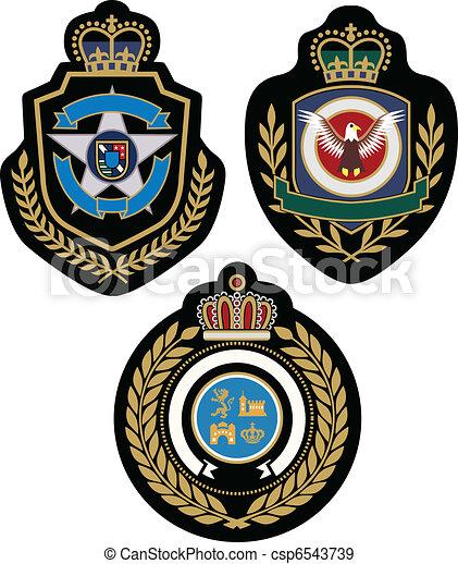 emblem badge design - csp6543739