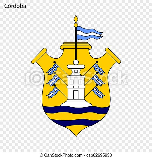 Emblem City of Argentina. Vector illustration - csp62695930