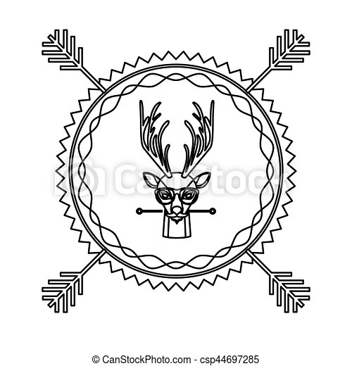 Royal Stag Clip Art Vector And Illustration 21 Royal Stag Clipart