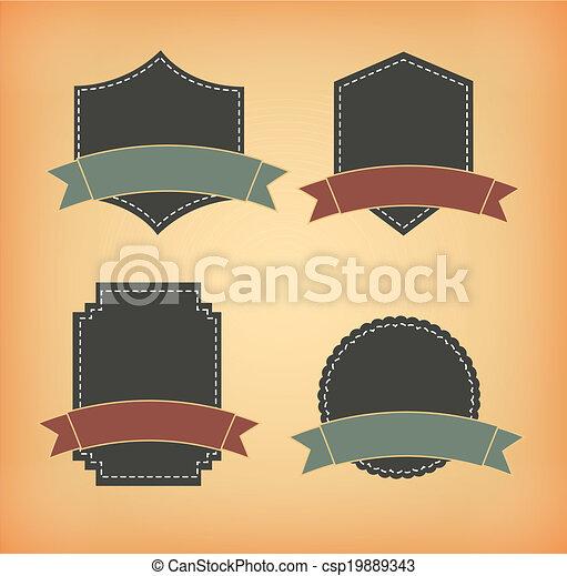 Emblem design - csp19889343