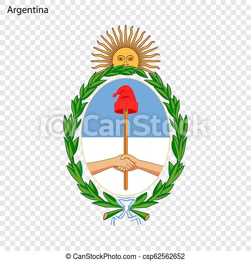 Emblem of Argentina - csp62562652