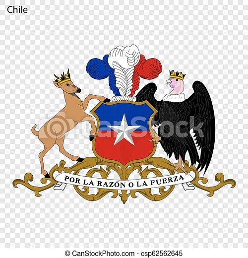 Emblem of Chile - csp62562645