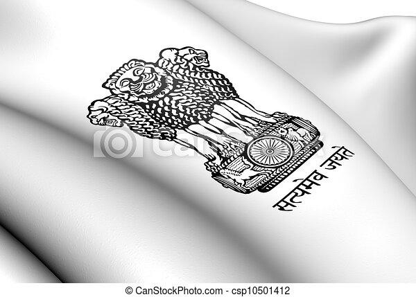 Emblem of India - csp10501412
