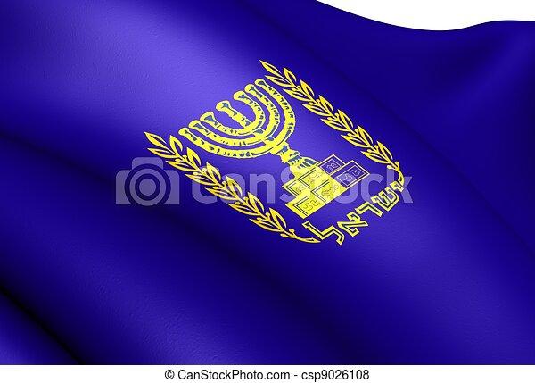 Emblem of Israel - csp9026108