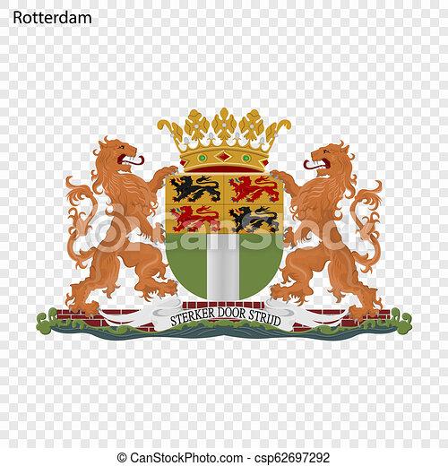 Emblem of Rotterdam - csp62697292