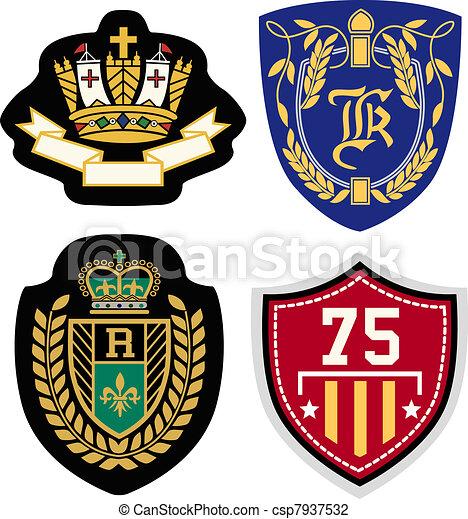 emblema, projeto fixo - csp7937532