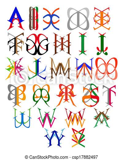 Embles de cartas - csp17882497