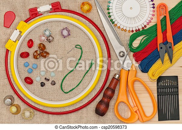 Embroidery accessories - csp20598373