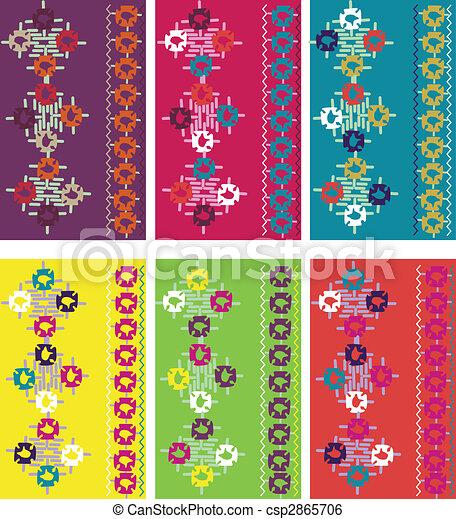 embroidery element design  - csp2865706